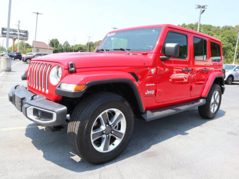 2020 Jeep Wrangler Unlimited for sale at RUSTY WALLACE KIA OF KNOXVILLE in Knoxville TN