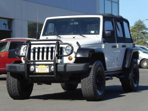 2010 Jeep Wrangler Unlimited for sale at Loudoun Motor Cars in Chantilly VA