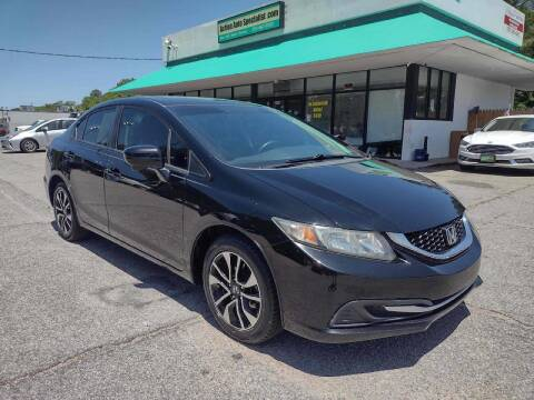 2014 Honda Civic for sale at Action Auto Specialist in Norfolk VA
