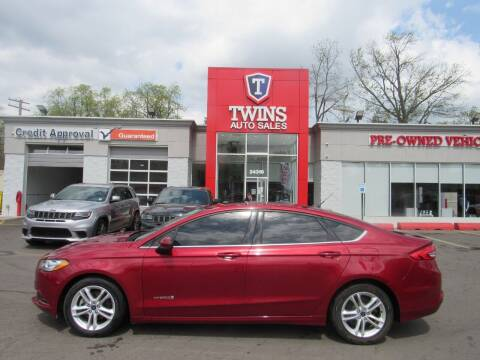 2018 Ford Fusion Hybrid for sale at Twins Auto Sales Inc in Detroit MI