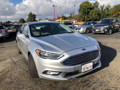 2017 Ford Fusion for sale at City Motors in Hayward CA