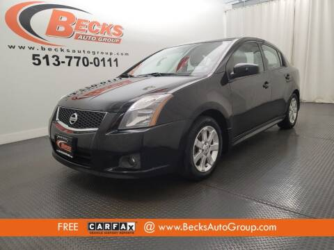 2010 Nissan Sentra for sale at Becks Auto Group in Mason OH