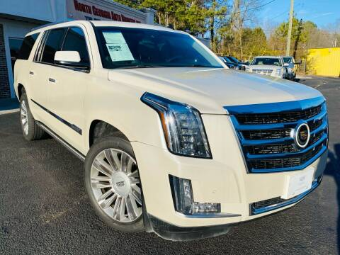2015 Cadillac Escalade ESV for sale at North Georgia Auto Brokers in Snellville GA