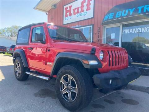 2019 Jeep Wrangler for sale at HUFF AUTO GROUP in Jackson MI