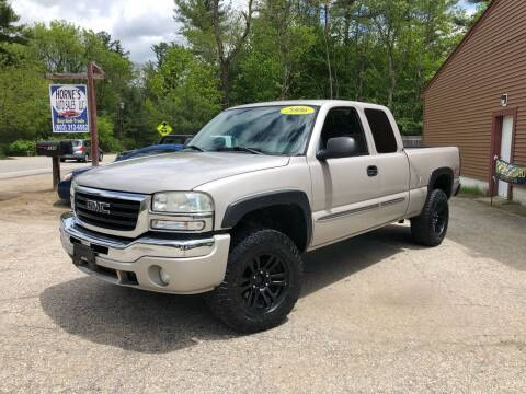 2006 GMC Sierra 1500 for sale at Hornes Auto Sales LLC in Epping NH
