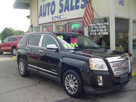 2013 GMC Terrain for sale at G & L Auto Sales Inc in Roseville MI