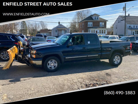 2006 Chevrolet Silverado 1500 for sale at ENFIELD STREET AUTO SALES in Enfield CT