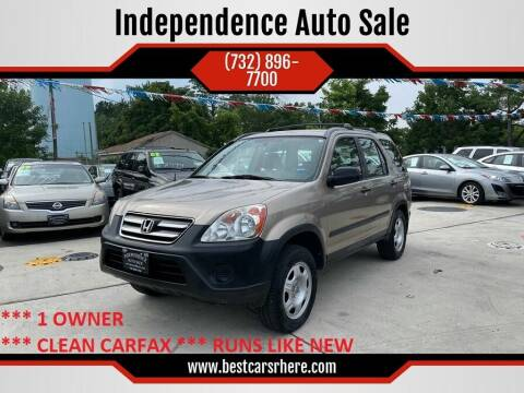2006 Honda CR-V for sale at Independence Auto Sale in Bordentown NJ