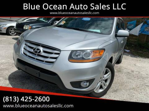 2011 Hyundai Santa Fe for sale at Blue Ocean Auto Sales LLC in Tampa FL