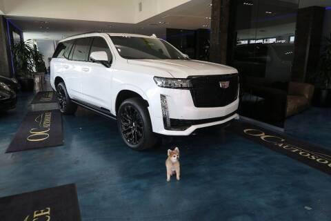 2021 Cadillac Escalade for sale at OC Autosource in Costa Mesa CA