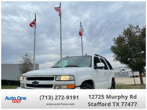2004 Chevrolet Tahoe for sale at Auto One USA in Stafford TX