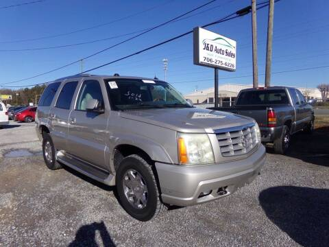 2004 Cadillac Escalade for sale at J & D Auto Sales in Dalton GA