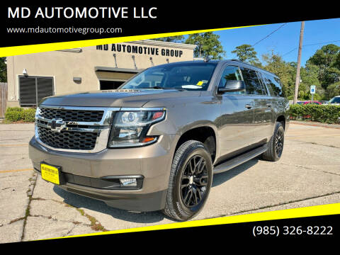 2016 Chevrolet Suburban for sale at MD AUTOMOTIVE LLC in Slidell LA