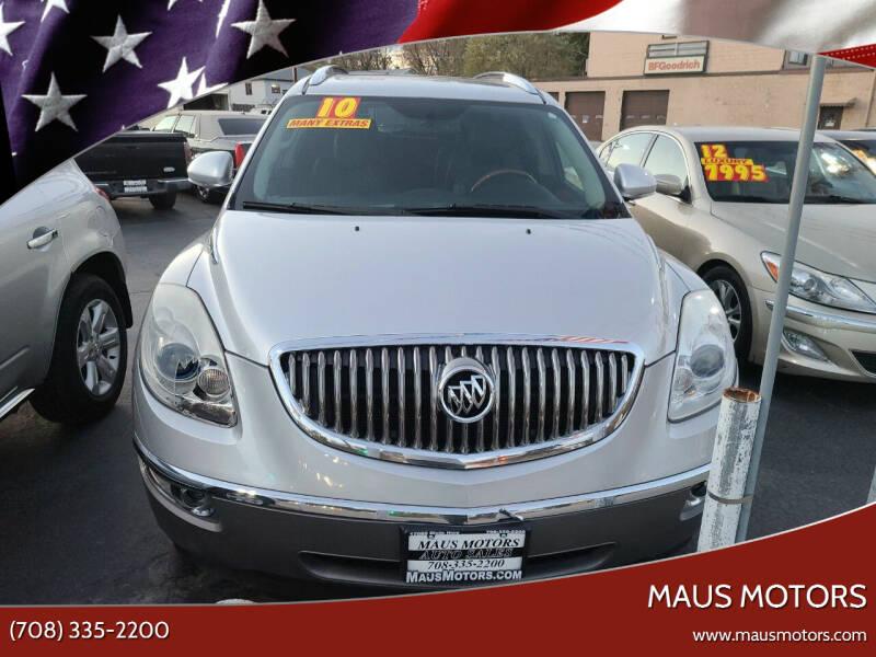 2010 Buick Enclave for sale at MAUS MOTORS in Hazel Crest IL