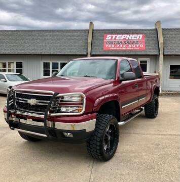 2007 Chevrolet Silverado 1500 Classic for sale at Stephen Motor Sales LLC in Caldwell OH
