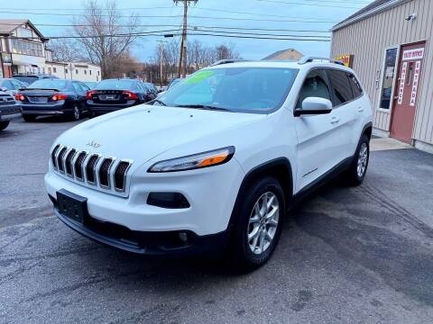 2015 Jeep Cherokee for sale at Dijie Auto Sale and Service Co. in Johnston RI
