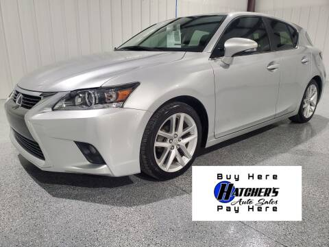 2015 Lexus CT 200h for sale at Hatcher's Auto Sales, LLC - Buy Here Pay Here in Campbellsville KY