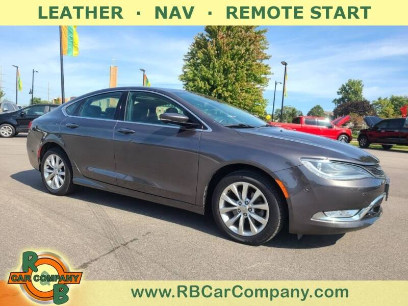 2015 Chrysler 200 for sale at R & B Car Company in South Bend IN