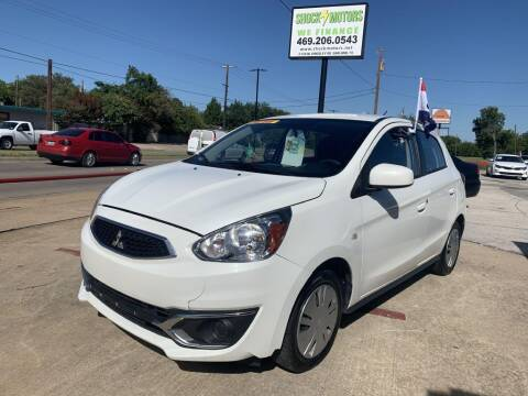 2019 Mitsubishi Mirage for sale at Shock Motors in Garland TX
