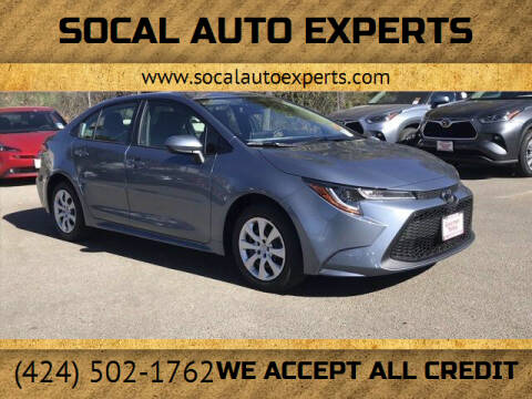 2021 Toyota Corolla for sale at SoCal Auto Experts in Culver City CA