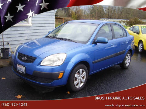 2008 Kia Rio for sale at Brush Prairie Auto Sales in Battle Ground WA