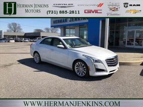 2016 Cadillac CTS for sale at Herman Jenkins Used Cars in Union City TN