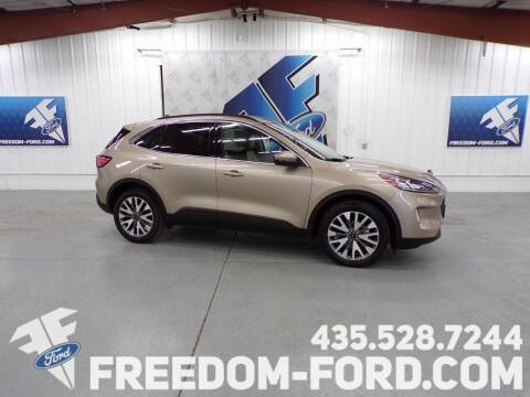 2020 Ford Escape for sale at Freedom Ford Inc in Gunnison UT