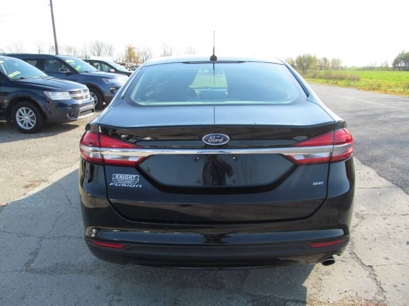2018 Ford Fusion SE 4dr Sedan - Stanton MI
