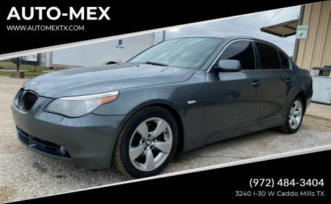 2005 BMW 5 Series for sale at AUTO-MEX in Caddo Mills TX