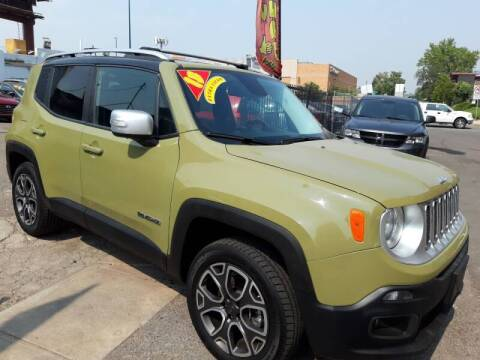 2015 Jeep Renegade for sale at Sanaa Auto Sales LLC in Denver CO