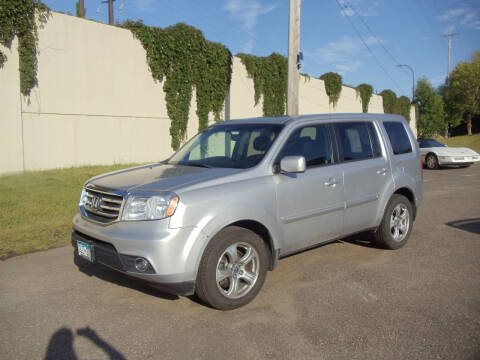 2012 Honda Pilot for sale at Metro Motor Sales in Minneapolis MN