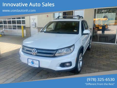 2015 Volkswagen Tiguan for sale at Innovative Auto Sales in North Hampton NH