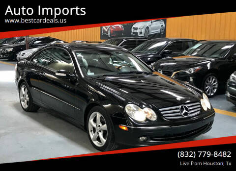 2004 Mercedes-Benz CLK for sale at Auto Imports in Houston TX