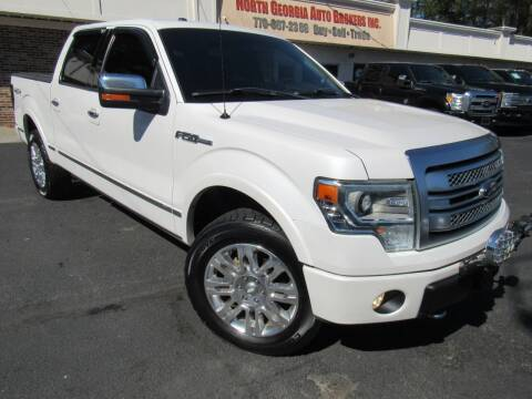 2013 Ford F-150 for sale at North Georgia Auto Brokers in Snellville GA
