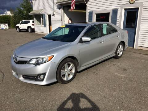 2012 Toyota Camry for sale at CLARKS AUTO SALES INC in Houlton ME