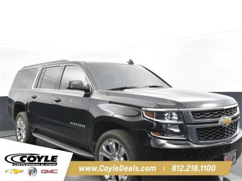 2018 Chevrolet Suburban for sale at COYLE GM - COYLE NISSAN - New Inventory in Clarksville IN