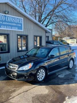 2012 Subaru Legacy for sale at Auto Consider Inc. in Grand Rapids MI