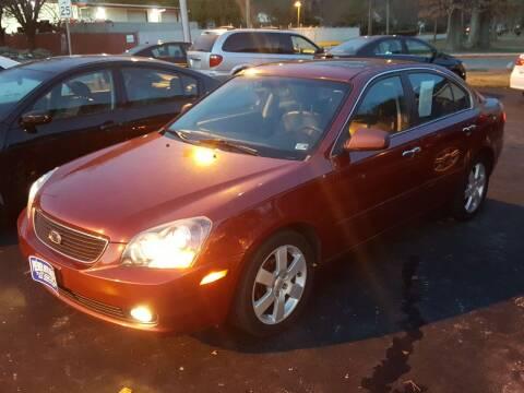2006 Kia Optima for sale at Premier Auto Sales Inc. in Newport News VA