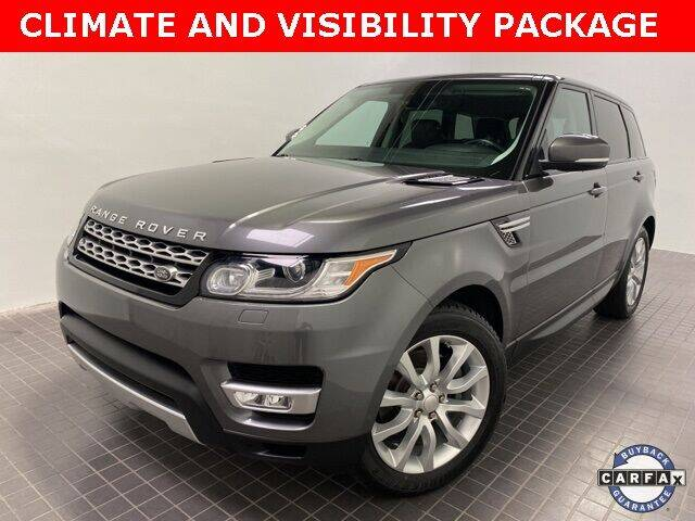 2014 Land Rover Range Rover Sport for sale at CERTIFIED AUTOPLEX INC in Dallas TX