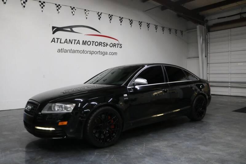 2008 Audi S6 for sale at Atlanta Motorsports in Roswell GA