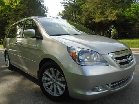 2005 Honda Odyssey for sale at Sunshine Auto Sales in Kansas City MO