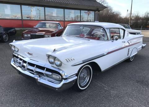 1958 Chevrolet Impala for sale at Black Tie Classics in Stratford NJ