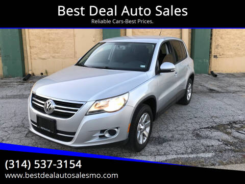 2009 Volkswagen Tiguan for sale at Best Deal Auto Sales in Saint Charles MO