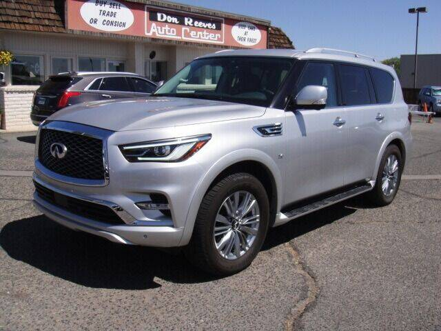 2019 Infiniti QX80 for sale at Don Reeves Auto Center in Farmington NM