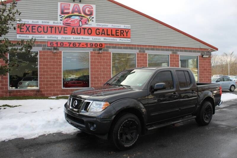 2014 Nissan Frontier for sale at EXECUTIVE AUTO GALLERY INC in Walnutport PA