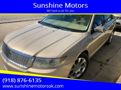 2006 Lincoln Zephyr for sale at Sunshine Motors in Bartlesville OK