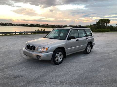 2001 Subaru Forester for sale at EUROPEAN AUTO ALLIANCE LLC in Coral Springs FL