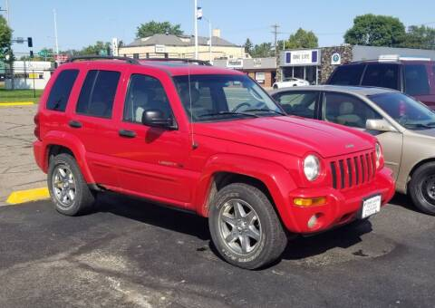 2003 Jeep Liberty for sale at Tower Motors in Brainerd MN