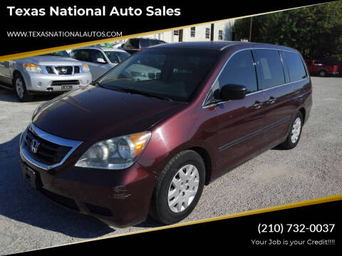 2010 Honda Odyssey for sale at Texas National Auto Sales in San Antonio TX
