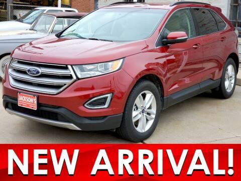 2016 Ford Edge for sale at Jacksons Car Corner Inc in Hastings NE